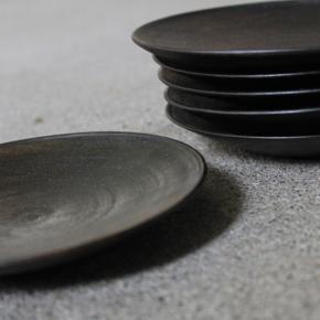 拭き漆の五寸皿