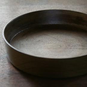 胡粉下地の銅鑼鉢