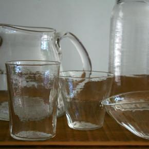 西山芳浩さんのガラス