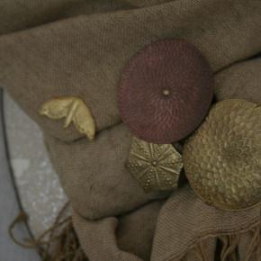 大桃沙織さんのブローチ